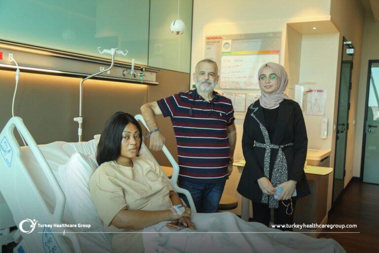 مركز الامراض النسائية ومعالجتها مقابلة مع المريضة مجموعة تركيا للرعاية الصحية